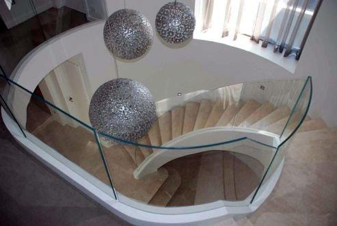 barandilla de cristal madrid