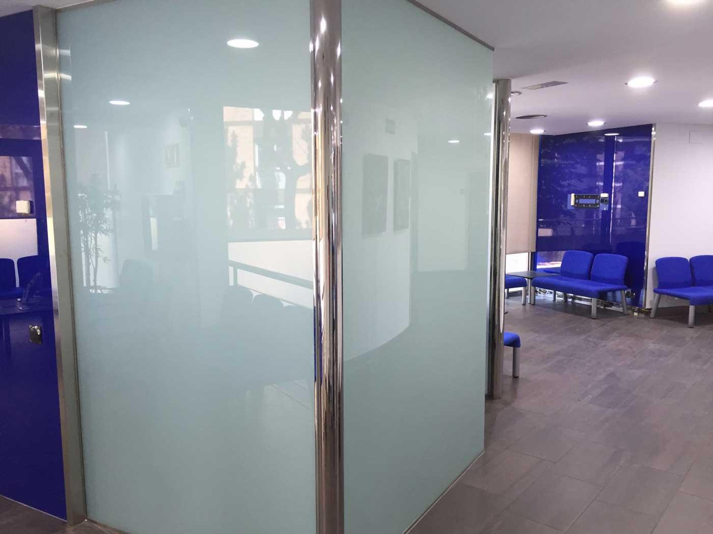 decoracion en vidrio madrid