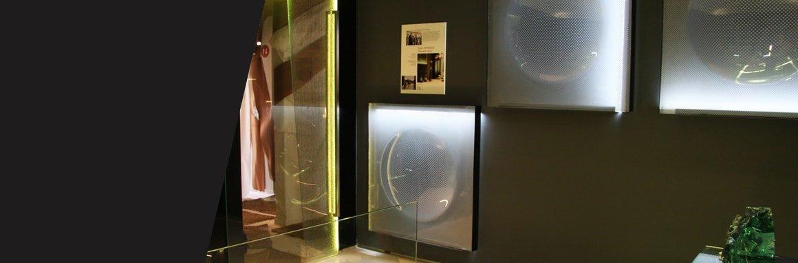 Vidrio en diferentes espacios